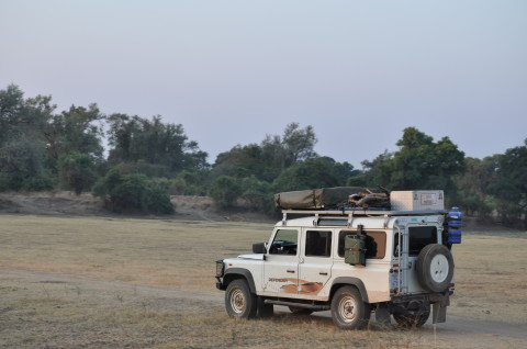 Safari Car Land Rover Range Rover South Luangwa Wildlife
