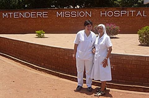 M'tendere Mission Hospital in Chirundu