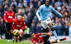Manchester City's Ivorian midfielder Yaya Toure