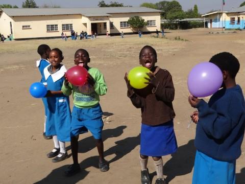 Nakatindi School, just outside of Livingstone in Zambia