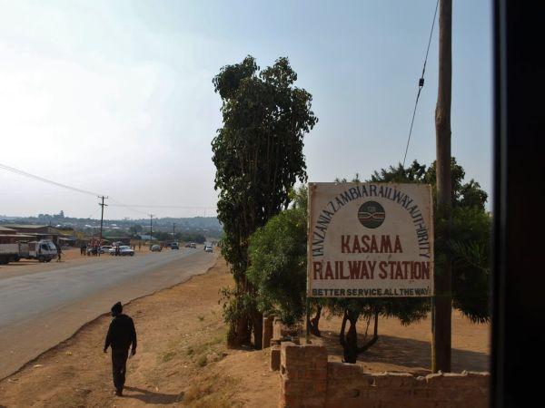 Railway station Kasama, Zambia