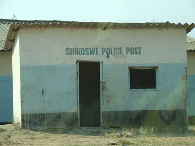The Police Post in Shikoswe, Kafue