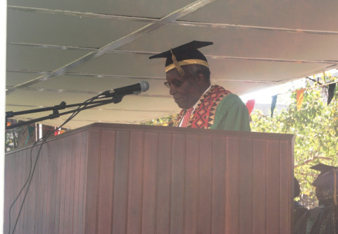 UNIVERSITY of Zambia (UNZA) Chancellor Jacob Mwanza