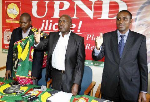 UPND Secretary General Winstone Chibwe