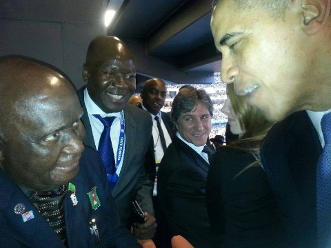 UNITED States President Barack Obama has commended former President Kenneth Kaunda for his contribution to growth of democracy in Africa.
