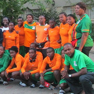 Zambia Under-20 women's football team coach Charles Bwale