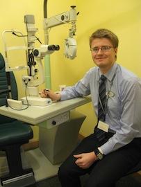 optometrist Niall Hynes