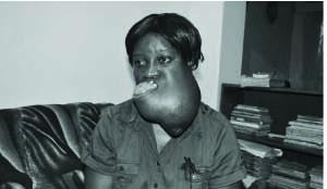 46-year-old Doris Mwamba of Kitwe