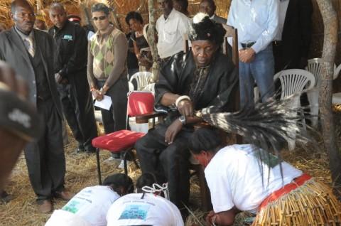 Senior Chief Shakumbila's traditional ceremony in Mumbwa District