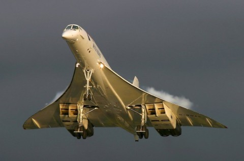Boeing, Lockheed Martin and Gulfstream are said to be developing a successor to Concorde, pictured, that could fly from London to Sydney in four hours (Photo: James Gordon)