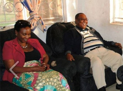 GBM and his wife Chama paying a courtesy call on Henry Sosola