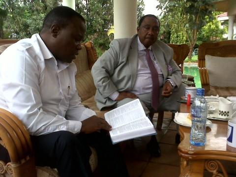 GBM studying God's Word with Bishop Chihana. .jpg