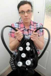 Jakki Ballan has spent almost £150,000 on Diet Coke and drinks up to 10 litres a day of it [MERCURY]