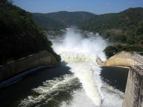 Kafue Gorge Upper hydropower plant
