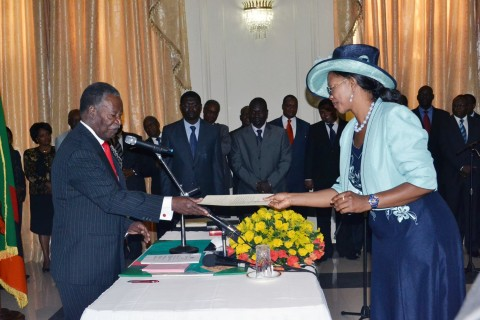 Minister of Tourism and Arts of the Republic of Zambia and Chairperson of Elections in the ruling Patriotic Front (PF)