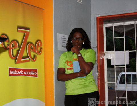 Monica Musonda, CEO & Founder of Java Foods