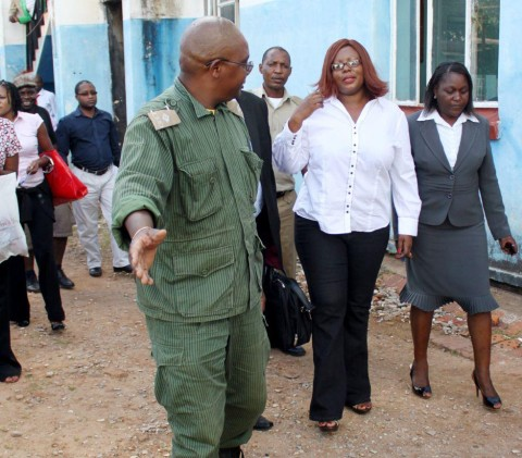 Ms Siliya, clad in black jeans, white shirt and slippers, first appeared before the joint Government investigations team at the former Anti-Corruption Commission head office in Woodlands, Lusaka