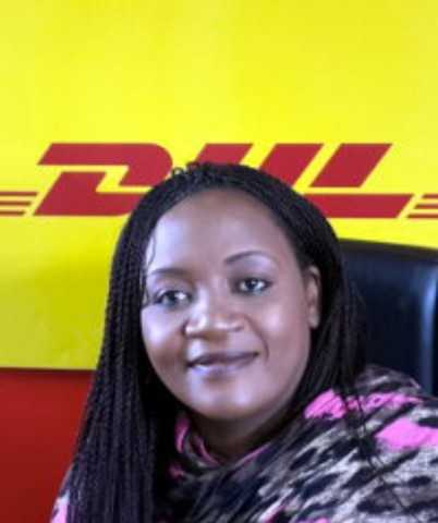 Nomsa Mumba, country manager of DHL Express in Zambia