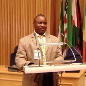 Peter Sinkamba, President Green Party of Zambia