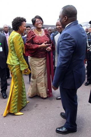 SATA at COMESA Summit with DRC First Lady Marie Kabila