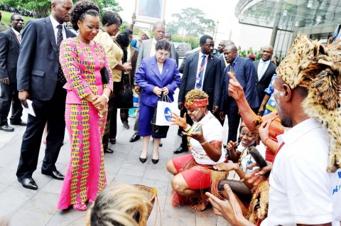 COMESA Summit : DRC First Lady Marie Kabila