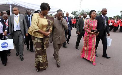 SATAs at COMESA Summit with DRC First Lady Marie Kabila