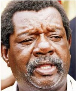 Shakespeare Mwakamui of the National Revolutionary Party (NRP)