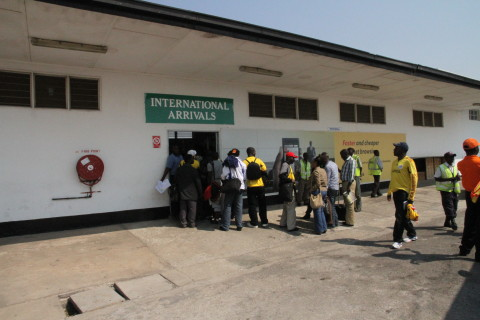 Simon Mwansa Kapwepwe International Airport in Ndola