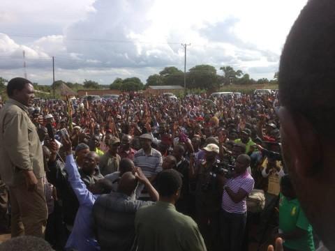 UPND Katuba Feb 22, 2014 -  Rally