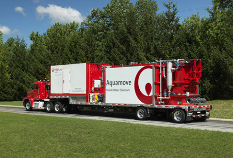Veolia Water Solutions & Technologies offers Aquamove™ mobile water treatment