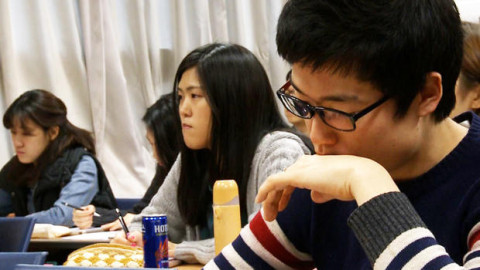 While an international educational poll ranks Korean students at the top for academics, they're at the bottom for happiness.