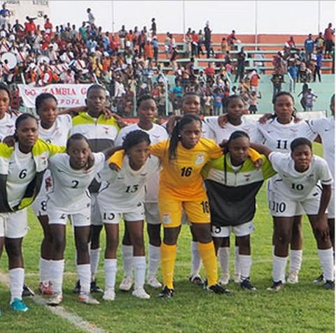 Zambia Under-17 women's football team - photo Credit supersport