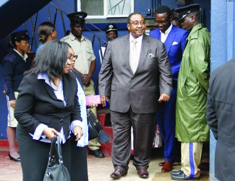 gbm - former Defence Minister Geoffrey Mwamba