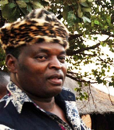 CHIEF Chikanta of Kalomo