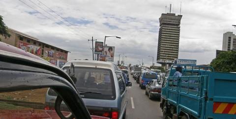 Lusaka Traffic Jam