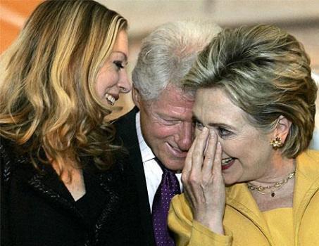 Chelsea Bill Hillary Clinton