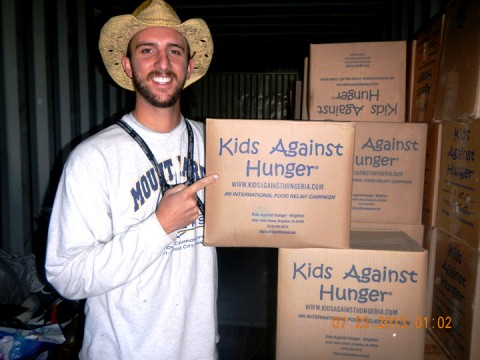 Stahl's dream to see the world realized in mission trip
