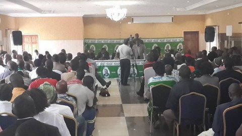 Kabimba - Good morning comrades. Just a picture from my interaction with the party in Kafue last weekend
