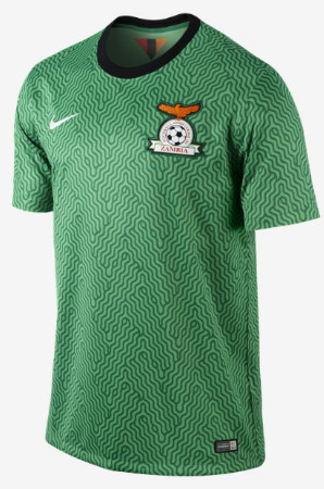 Nike have unveiled the home and away kits that will be worn by the Chipolopolo (The Copper Bullets) during the 2014:15 international season.