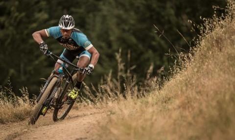mountain biking race i