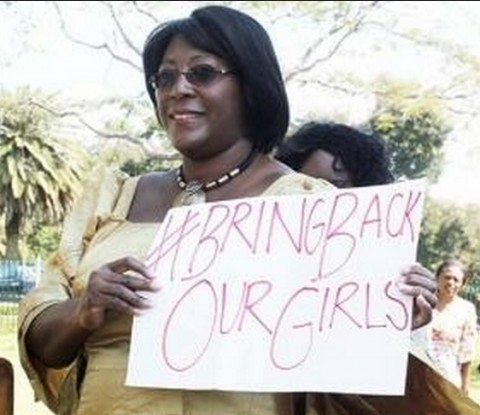 """""""Bring back our girls!"""" Dr Kaseba demanded unreservedly"""