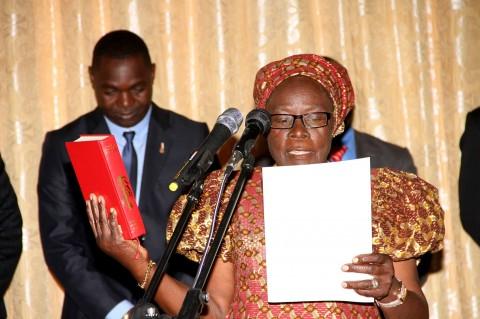 Ambassador Salome Mwananshiku who will head our mission in Malawi