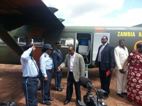 Wynter M. Kabimba, ODS, SC, Arrival in Kasama May 1st, 2014