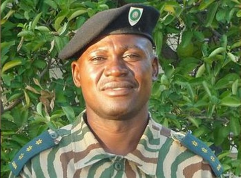 Dexter Chilunda, ranger in charge of law enforcement at Zambia's Liuwa Plain National Park (Photo courtesy African Parks)