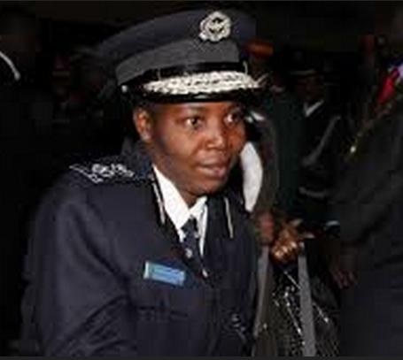 Northern Province Police Commissioner Charity Katanga