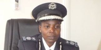 Police Commissioner Charity Katanga