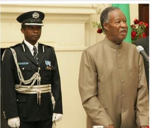 PRESIDENT Michael Sata atthe Lusaka High Court - Photo Credit THEPOST