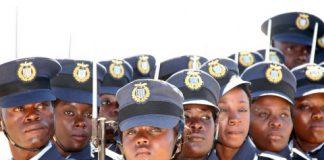 Some of the 100 ZAF officer cadets graduates