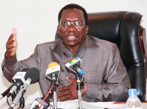 Tanzania's Prime Minister Mizengo Pinda
