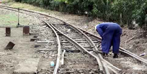 Tanzania Zambia Railways Authority (TAZARA) worker